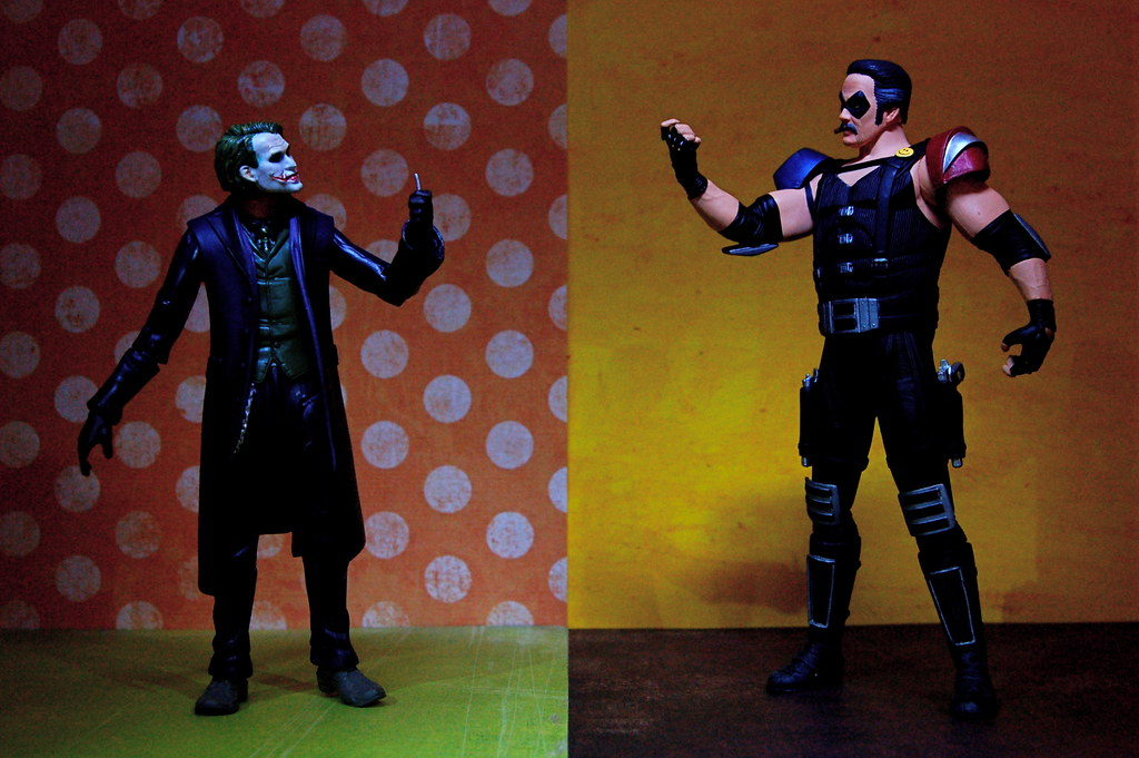 Joker vs. Comedian (105/365)