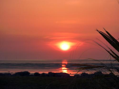 Sunset On Beach 11