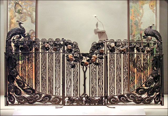 grille paons mus e des arts d coratifs flickr photo sharing. Black Bedroom Furniture Sets. Home Design Ideas