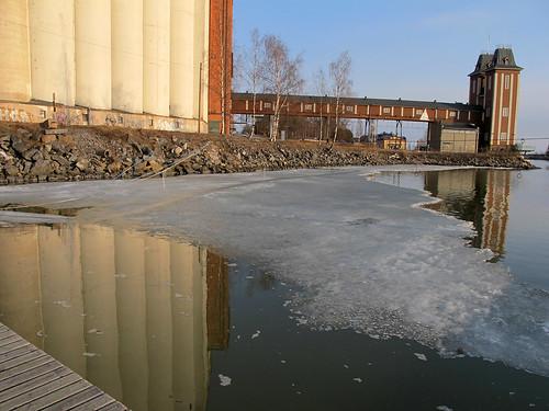 sea ice water pier meri vesi vaasa jää laituri