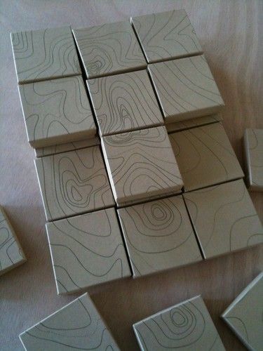 Pop up shop packaging