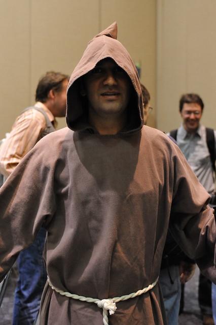 Kieran as a Franciscan...