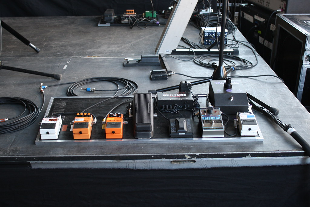 Brian Bell Pedal Board | Flickr - Photo Sharing!