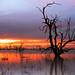 Sunset at Menindee Lakes, Outback NSW, Australia by -yury-