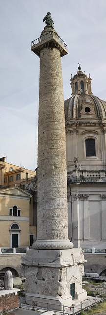 Trajan's Column Panorama