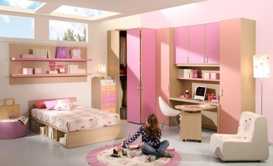 7 Inspiring Kid Room Color Options For Your Little Ones: 15-Cool-Ideas-for-pink-girls-bedrooms-11