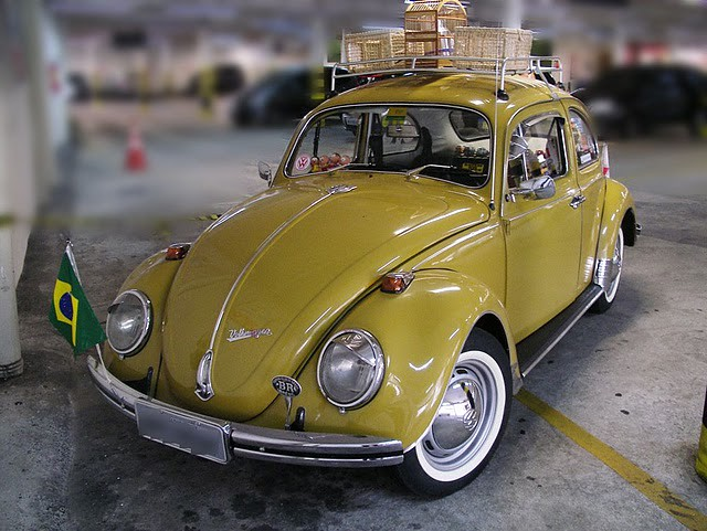special yellow classic champion   beetle brazil flickr