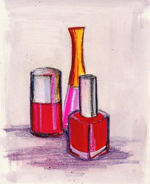 Nail Polish Drawing Nail