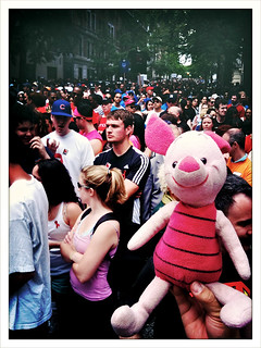Piglet's First AIDS WALK (x2)