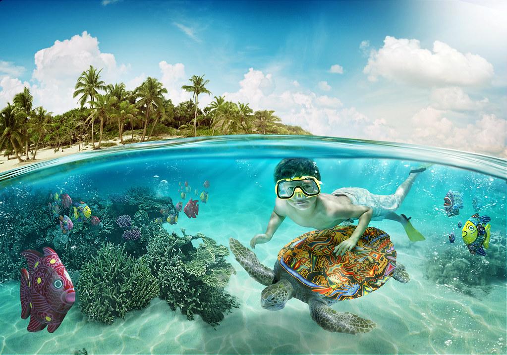 Французская Полинезия остров