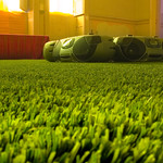 Astro Turf Ghetto Blasters - Brian Eno Speaker Flowers Sound Installation at Marlborough House
