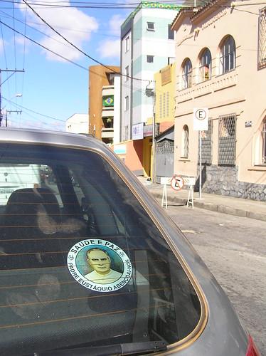 sticker on car PE Eustaquio