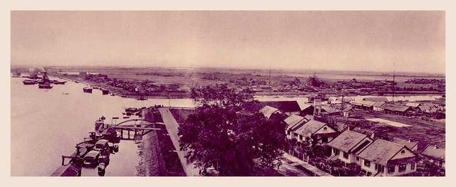 Saigon - Vue panoramique du Port