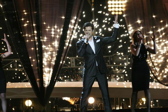 Melodi Grand Prix finale i Oslo Spektrum
