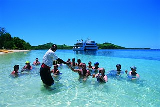 Group - Blue Lagoon Cruises, Lautoka, Fiji Islands