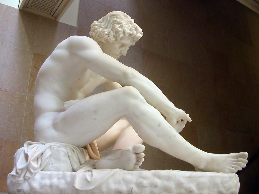 Paris - Musée d'Orsay - Le Désespoir - Jean-Joseph Perraud
