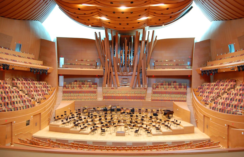 Walt Disney Concert Hall, Los Angeles (Inside)