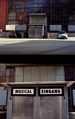 Musical Eingang