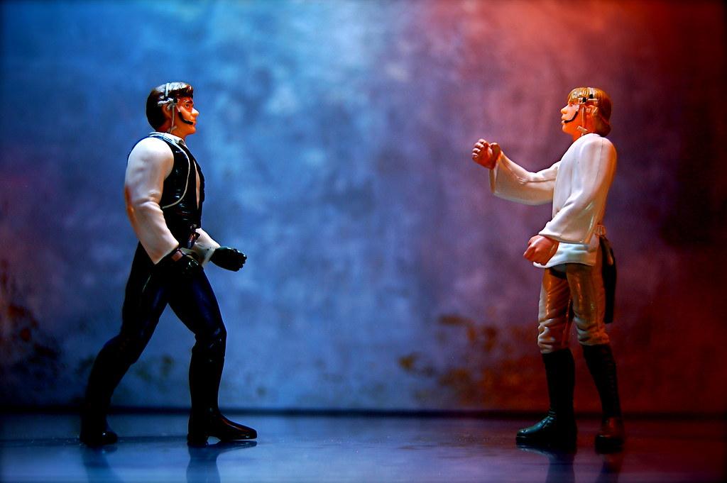 Han Solo vs. Luke Skywalker (161/365)