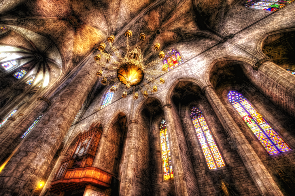 The Golden Chandelier (HDR) [Explored]