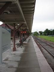 Ocala Amtrak Platform