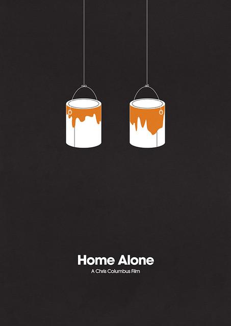 极简主义经典电影海报分享