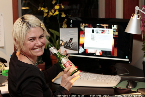 drinking a beer and watching solidworks install on a brand new widescreen monitor