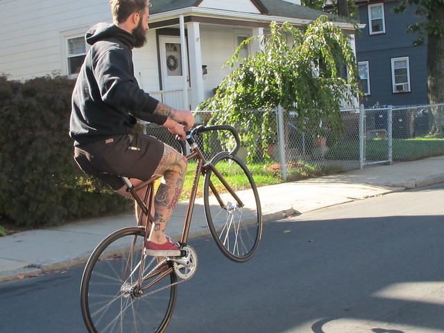 Bradford's New Wheelie Bike Day