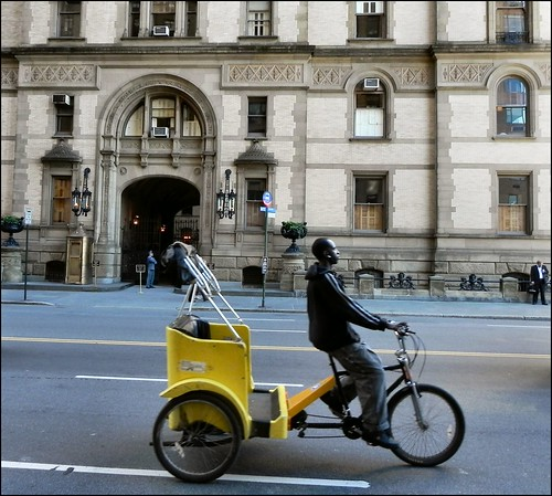 Pedicab Passing the Dakota