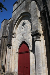 Eglise abbatiale de Marestay à Matha - Photo of Haimps