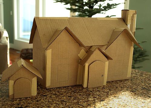 Search results for free pattern cardboard christmas for House pattern