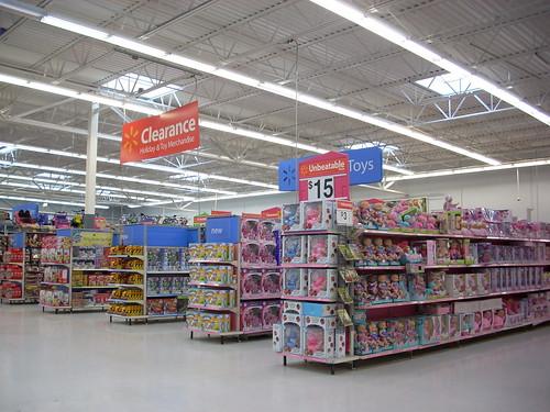 Interior Of Walmart