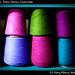 coloured threads, Todos Santos, Guatemala