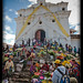Steps of church, Chichicastenango, Guatemala (3)
