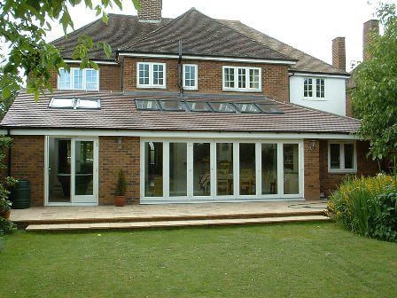 tiled roof bi fold