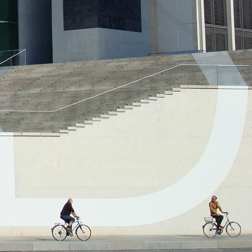 Two Cyclists 3/3