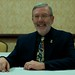 Leonard Maltin receives the first NFFC–Disneyana Fan Club Heritage Award