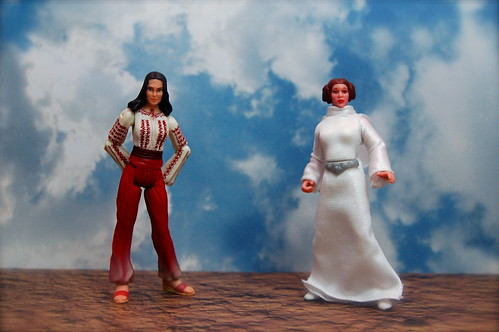 Marion Ravenwood vs. Princess Leia Organa (21/365)
