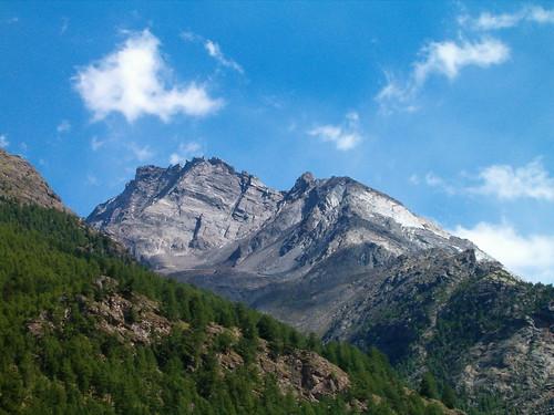 Berge zwischen Zermatt und Visp , Kanton Wallis , Schweiz by chrchr_75