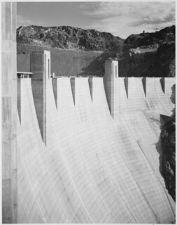 Close-Up Photograph of Boulder Dam