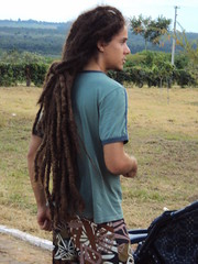 pattern(1.0), hairstyle(1.0), clothing(1.0), hair(1.0), long hair(1.0), dreadlocks(1.0),