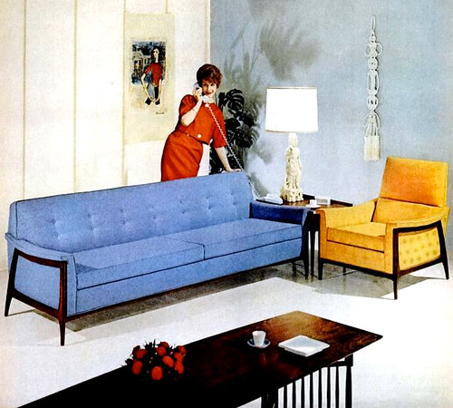 1960s Living Room : Mid-Century Living: Living Rooms (1960-65)