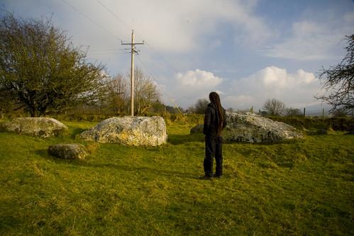 Castleruddery stone circle, Wicklow, Ireland