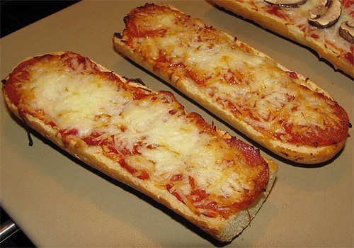 Pepperoni Cheese French Bread Pizza