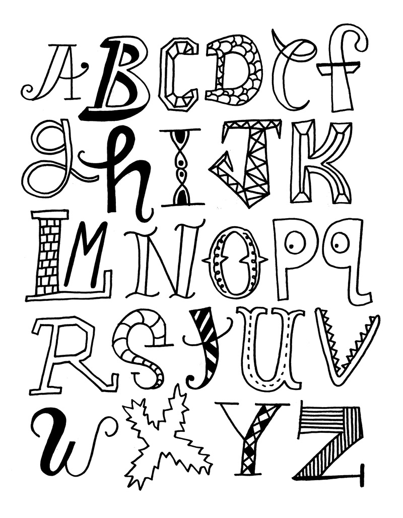 1000 Images About Typography On Pinterest Alphabet