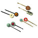 Old Button Hairpins