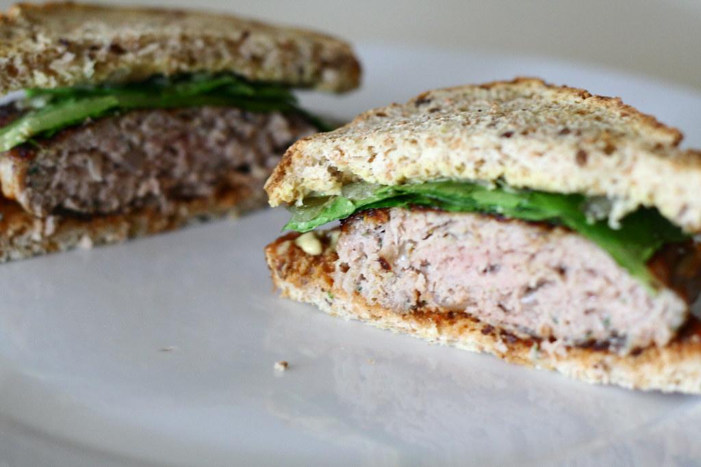 Thyme & Parmesan Turkey Burger