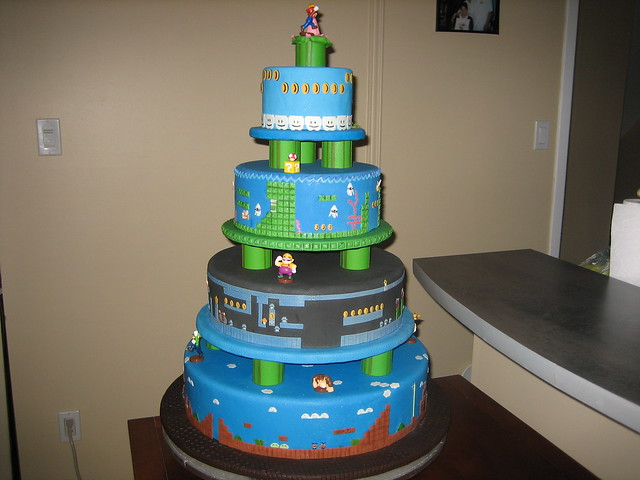 Super Mario Wedding Cake Flickr Photo Sharing