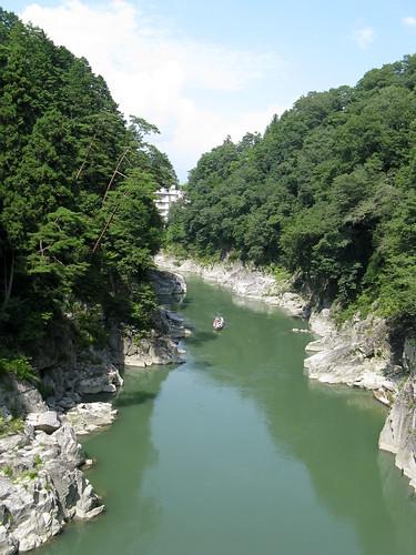 park people nature rock japan river geotagged 日本 2008 nagano eastasia centralhighlands iida 長野県 天竜川 青春18きっぷ 飯田市 天竜峡 200809 20080907 tenryuriver seishun18travel 中央高地 tenryugorge geo:lat=35437428 geo:lon=137820501