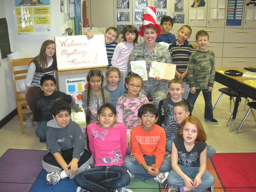 Read Across America , Vicenza, Italy - US Army - 100302